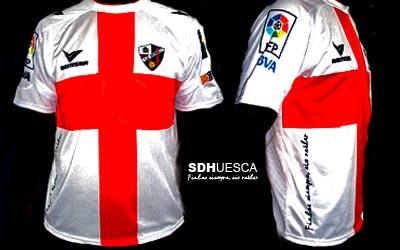 Polemica camiseta de la S.D.Huesca
