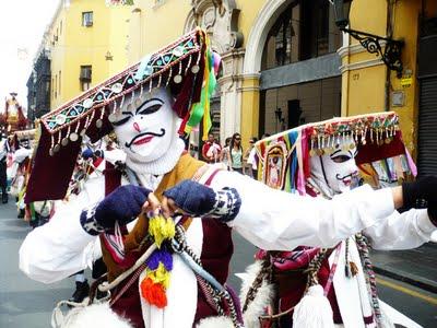 El baile del Caracol versión Perú