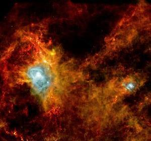 El nacimiento de una estrella