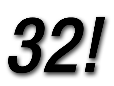 32 primaveras pal Zulo!