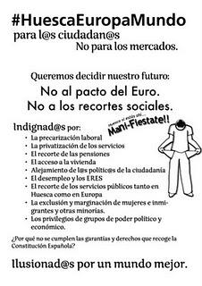 Estos son los carteles del 19-J para Huesca
