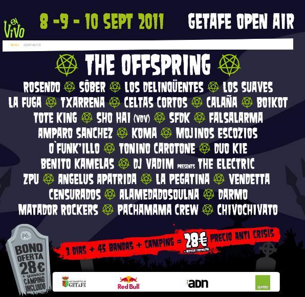 FESTIVAL EN VIVO 2011