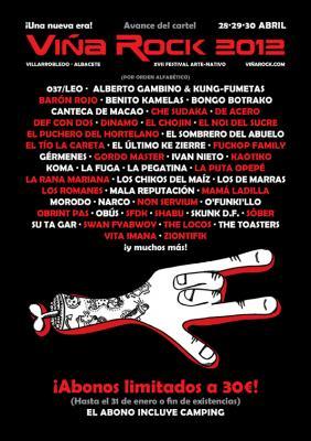 Adelanto Viña Rock 2012
