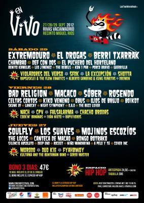 En vivo Getafe 2012